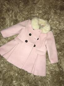 Pink next coat