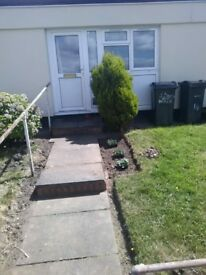 Exchange wanted from 1 bed bungalow in druids heath,