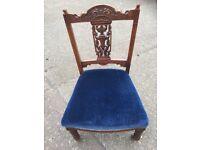 Antique Nursing Chair / Child's chair.