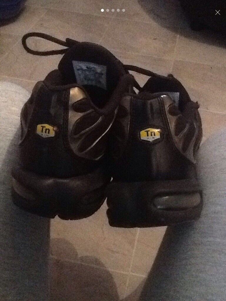 brand new f9f28 0baa1 nike tns size 7 gold and black | in North Shields, Tyne and ...