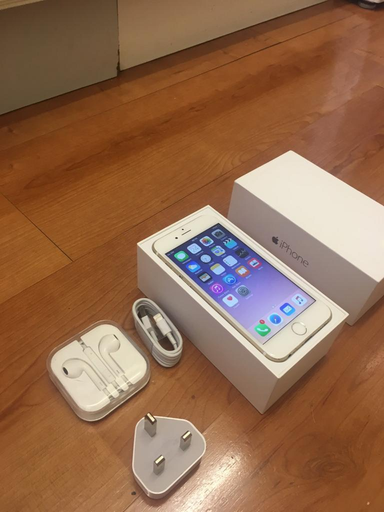 iPhone 6 16GB Boxed With Accessories! Immaculate conditionin Nottingham City Centre, NottinghamshireGumtree - iPhone 6 16GB, iPhone is in immaculate condition without visible scratches or dents as seen in the photos ! its in full working order & Everything WORKS perfect! It comes boxed with with all accessories which include, earphones, USB cable, plug &...