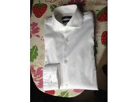 Hugo Boss Jason Shirt size 14 1/2 x2