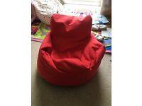 Kids beanbag chair