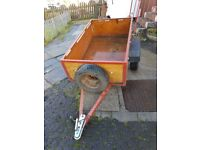 FOR SALE IS MY 5 BY 3 TRAILER
