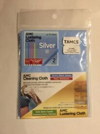Gold and silver cleaning cloth