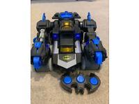 Imaginext Remote Control Transforming Batbot (no Batman). Excellent Condition.