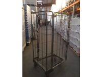 Galvanised mobile roll cage