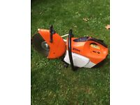 Stihl Ts 410 Con saw. In perfect working fresh order with 90% blade. £380
