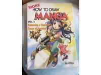 How to draw manga book