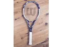 Wilson BLX Juice 100S Tennis Racket. Grip 3. Fantastic Condition. New Restring