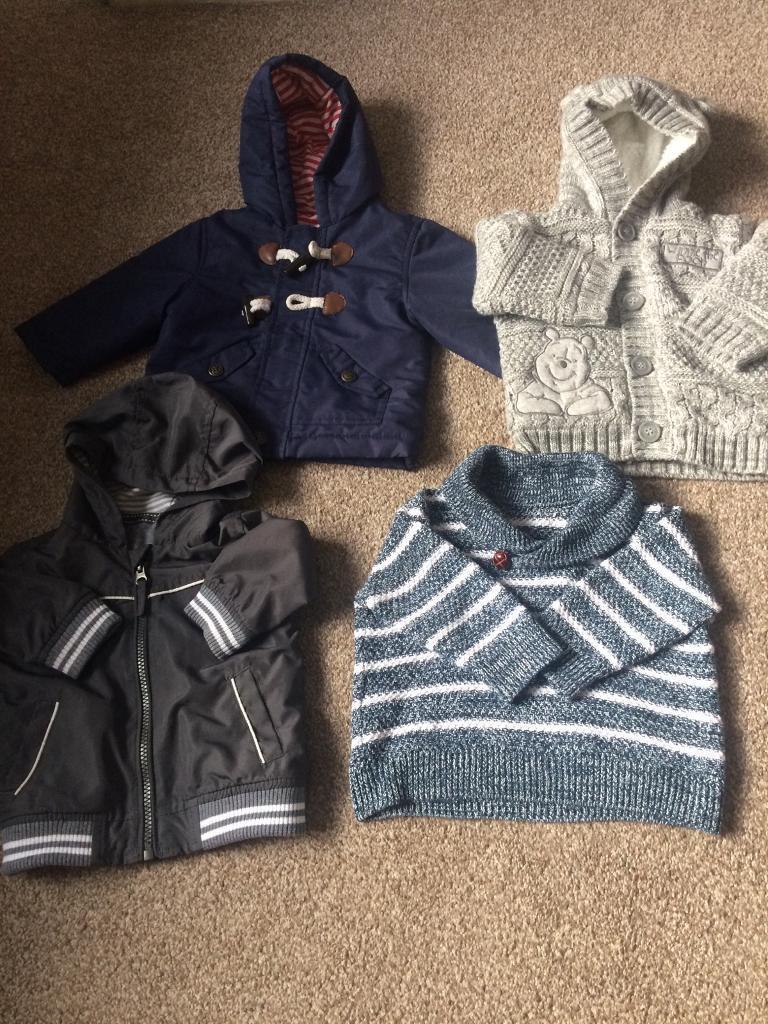 Boys Coat Bundle Aged 3-6 Months