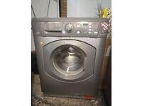 Hotpoint Aquarius+ WMF 760 Washing Machine (Freestanding, Silver, Right, 7 kg, 1600 RPM)