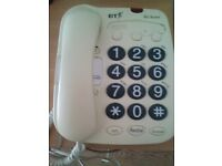 big button home telephone. great if have a problem with your eyesite