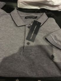 BRANDNEW French connection polo shirt