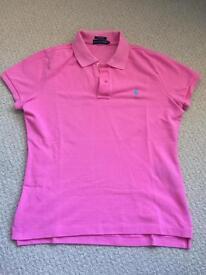 Genuine Ralph Lauren womens polo shirt