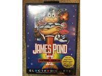 James Pond Sega Megadrive Game