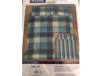 Double bed duvet set x2 (BNIP)