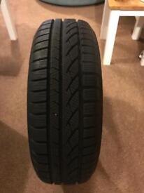 195/65/15 continental winter snow tyre 8mm tread like new