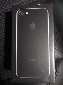 Apple iPhone 7 Jet Black Brand New in box unlocked
