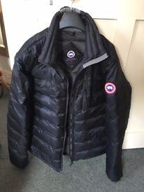 Canada Goose Lodge Jacket - Men's Large (Black/Graphite)