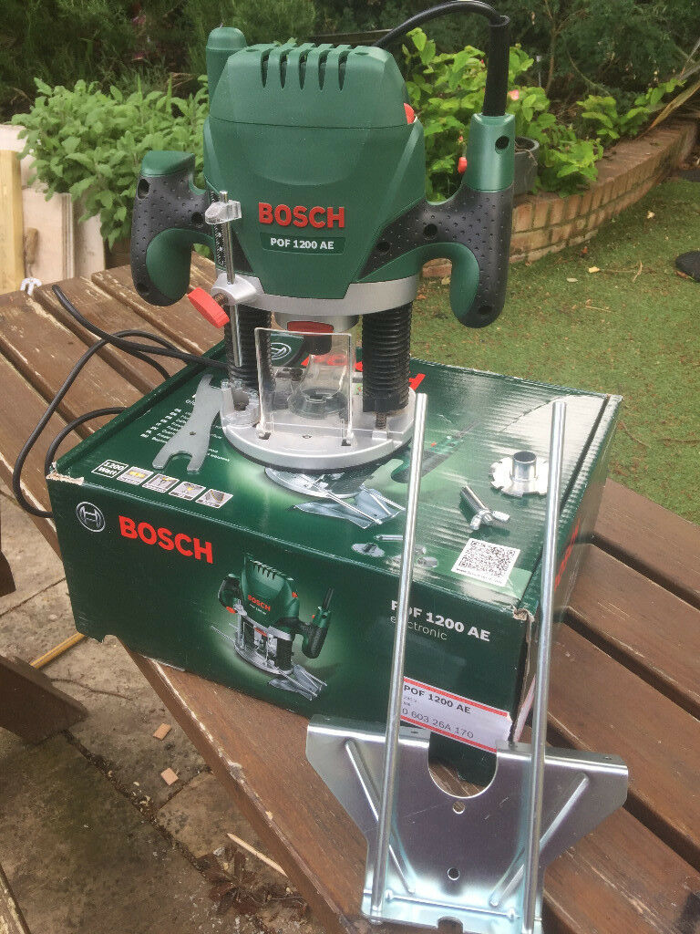 Bosch router pof 1200 ae with all accessories and original box in bosch router pof 1200 ae with all accessories and original box keyboard keysfo Image collections
