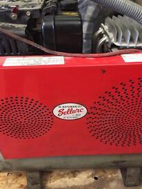 Diesel air compressor 130 litre