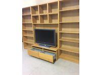 Ikea TV stand/bookcase