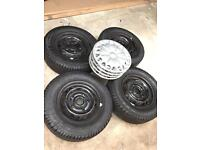 Alloys and tyres for sale
