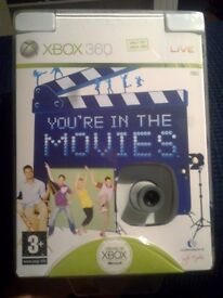 "XBOX 360 camera and game ""You're in the movies"" - sealed box Lots of fun and see yourself"