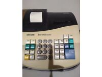 Olivetti ECR 2150 cash register with operating manual.
