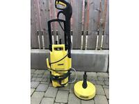 Karcher K2 .56 power pressure washer with Patio cleaner