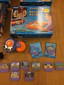 Vtech games console bundle