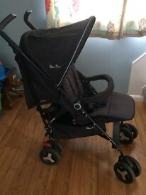 Nearly New Silver Cross Reflex Pushchair
