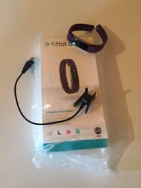 Fitbit Alta for sale. Complete with box and even plastic wrapper. Barely used.