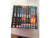 Reduced to £15 CSI New York dvd's