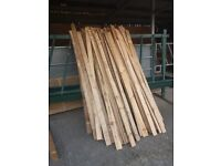 """4"""" x half inch timber 8ft lengths just 60 pence per length"""