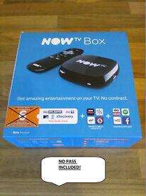 Now TV Box - New