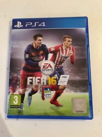 Fifa 16 PS4 perfect condition