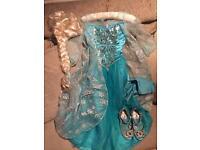 Elsa Disney Shop dress up
