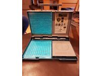 Deluxe Battleship Game in Handy Storage Case No Box