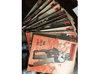 FIFTY ONE PICTUREGOER FILM MAGAZINES 1952 COMPLETE APART FROM TWO ISSUES