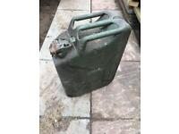 Metal 10l Jerry can