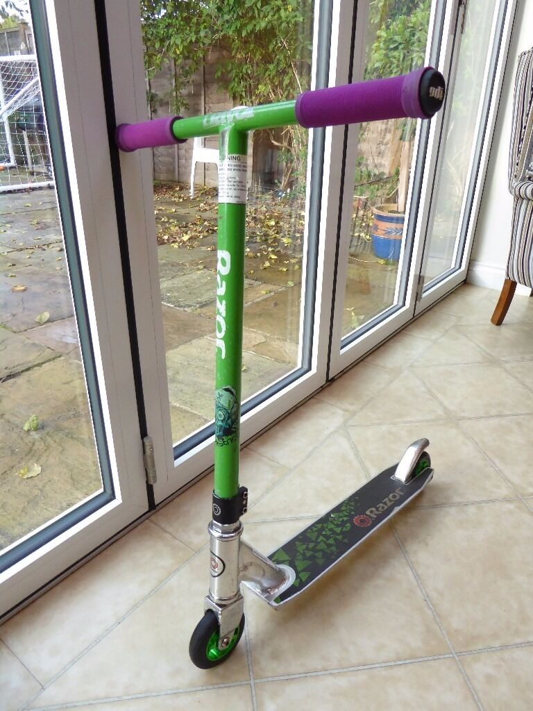 Razor ultra pro – the best trick scooter.