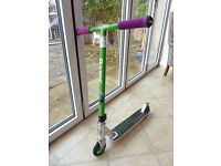 Lazor Ultra Pro Stunt Scooter - special edition - green metal core wheels