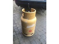 Flo gas cylinder half full