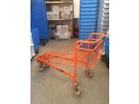 Mobile platform trolley heavy duty