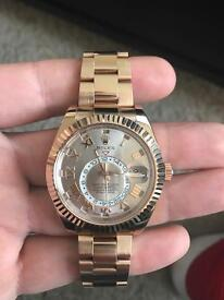 Rolex skydweller 2016 box and papers