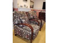 Matched pair of recliners