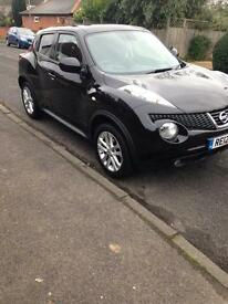 Nissan Juke 1.6. Black. Full service history. 1 owners from new.