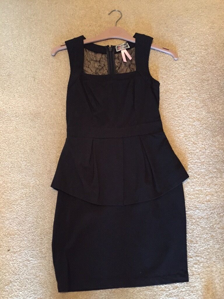 Black lipsy dress size 8in Downton, WiltshireGumtree - Lipsy dress, size 8, exellcent condition, smoke free, pet free, lace on the back. Can be posted for an extra charge